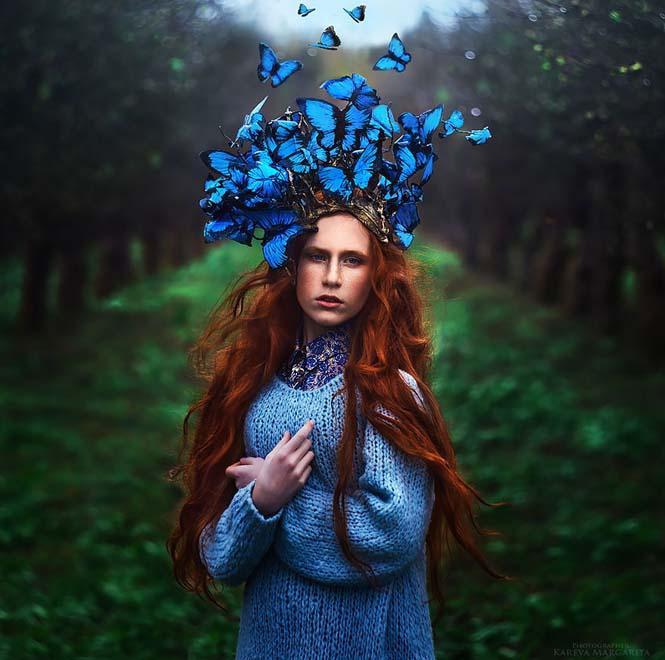 Παραμύθια ζωντανεύουν μέσα από τις μαγικές φωτογραφίες της Margarita Kareva (1)