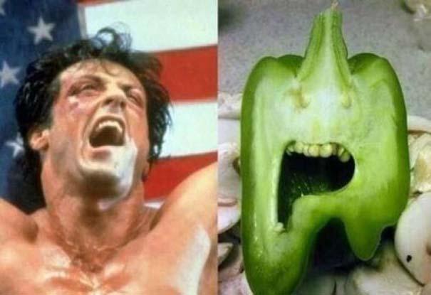 Παράξενα κι αστεία φρούτα & λαχανικά (1)