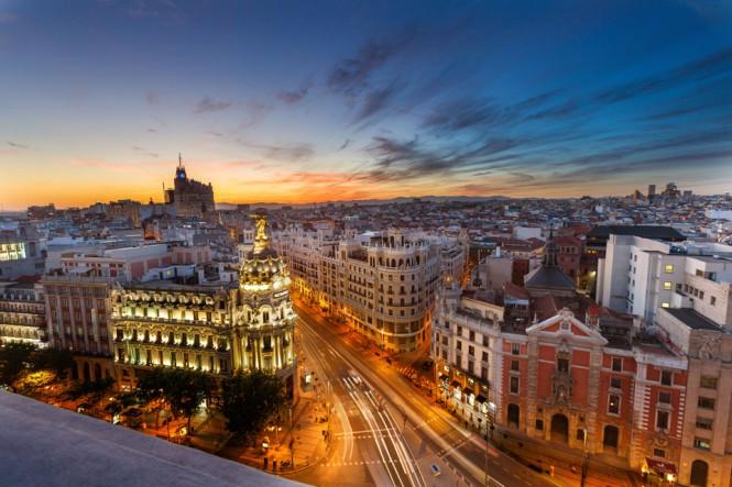 Ηλιοβασίλεμα στη Μαδρίτη   Φωτογραφία της ημέρας