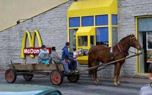 Πράγματα που δεν περιμένεις να δεις σε ένα Fast Food (8)