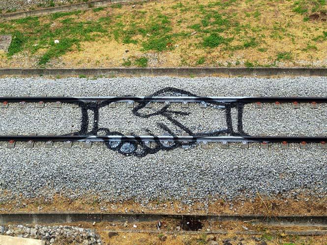 Τέχνη στις γραμμές του τρένου (1)