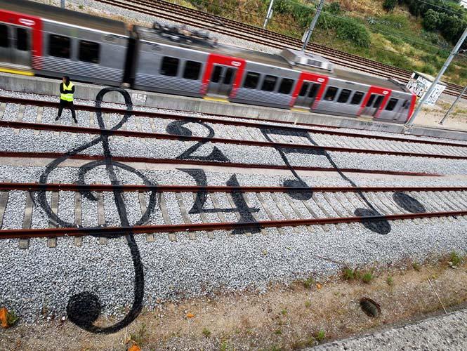 Τέχνη στις γραμμές του τρένου (2)