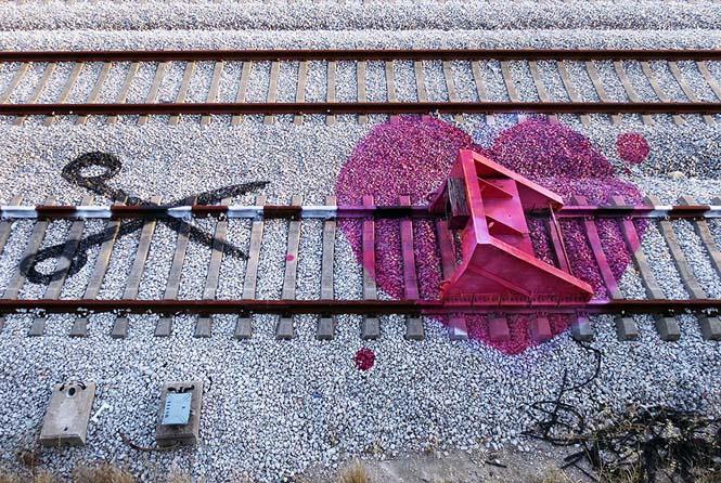 Τέχνη στις γραμμές του τρένου (3)