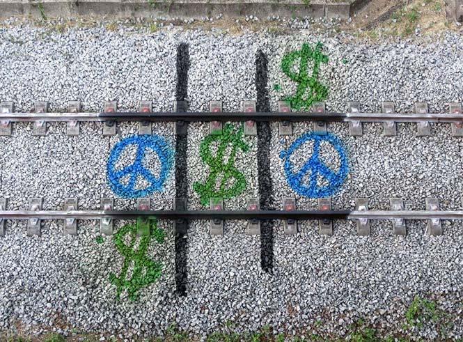 Τέχνη στις γραμμές του τρένου (4)