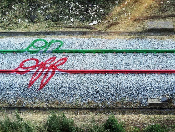 Τέχνη στις γραμμές του τρένου (5)