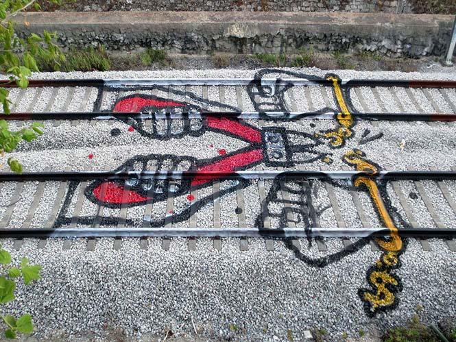 Τέχνη στις γραμμές του τρένου (6)