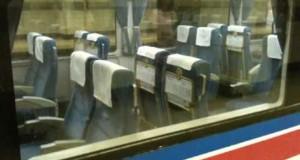 Τρένο με περιστρεφόμενα καθίσματα (Video)