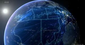Όλες οι υπερατλαντικές πτήσεις ενός 24ωρου σε 2 λεπτά (Video)