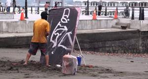 Δημιουργία έργου τέχνης με ανατρεπτικό φινάλε (Video)