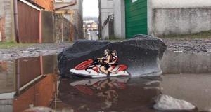 Έξυπνη τέχνη του δρόμου από τον JPS
