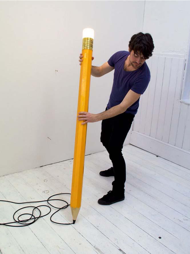 Φωτιστικό - μολύβι (3)