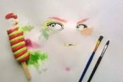 Καλλιτέχνης ζωγραφίζει με παγωτά αντί για μπογιές (1)