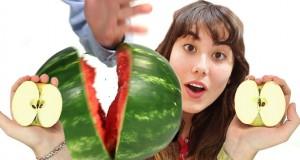 Απίθανα κόλπα που μπορείτε να κάνετε με φρούτα (Video)