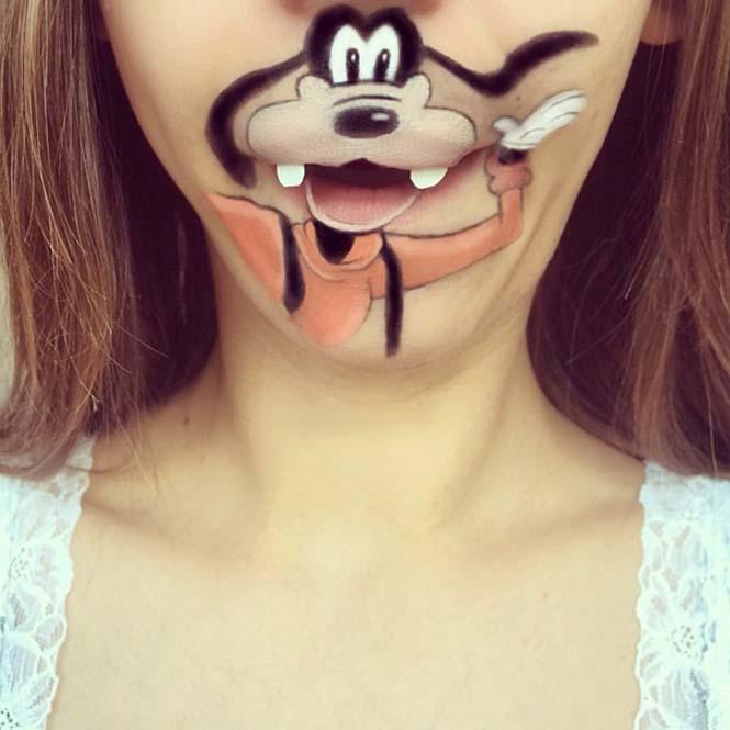 Makeup artist μετατρέπει τα χείλη της σε διασκεδαστικά καρτούν (15)