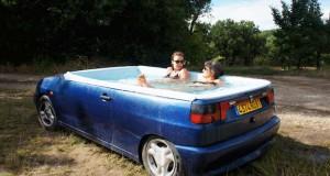 Παλιό Seat Ibiza μετατράπηκε σε… jacuzzi