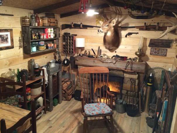 Παλιό υπόγειο μετατράπηκε σε ανδρικό στέκι με 107 δολάρια (13)