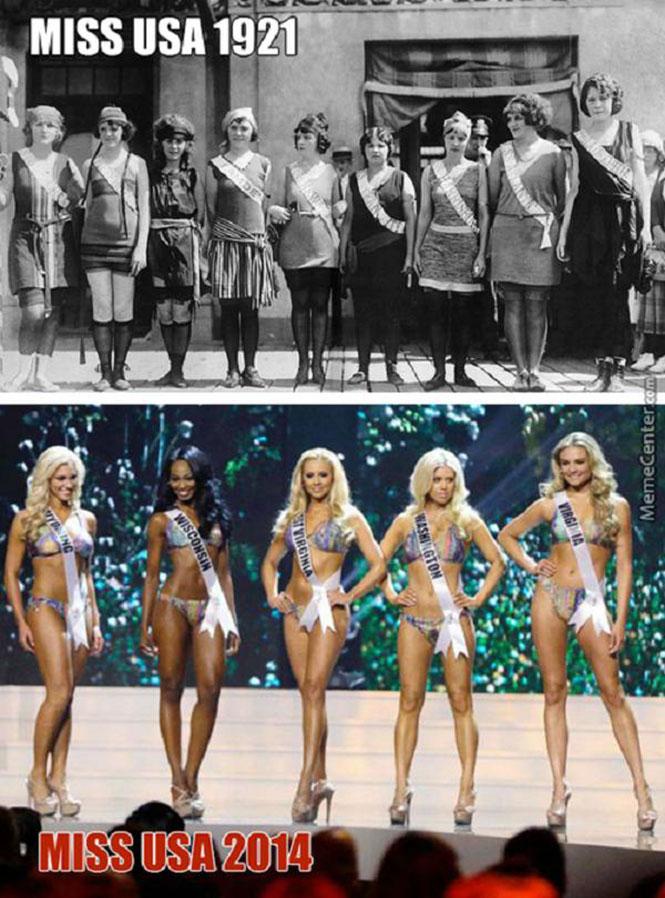 Καλλιστεία στις ΗΠΑ τότε και τώρα | Φωτογραφία της ημέρας