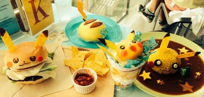 Pikachu cafe στην Ιαπωνία