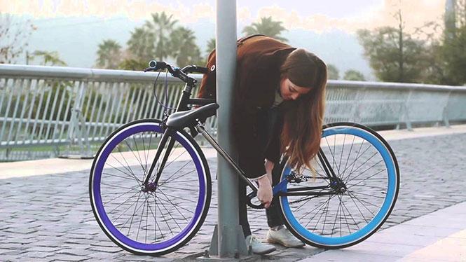 Το ποδήλατο που δεν μπορεί να κλαπεί