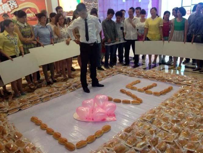 Πρόταση γάμου με 1000+1 hot dogs (2)