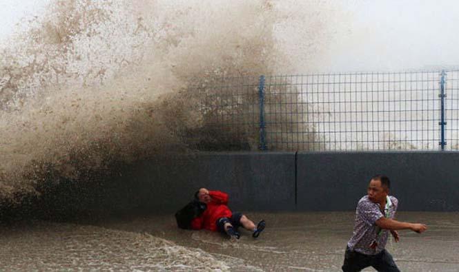 Τεράστιο παλιρροιακό κύμα στην Κίνα (2)