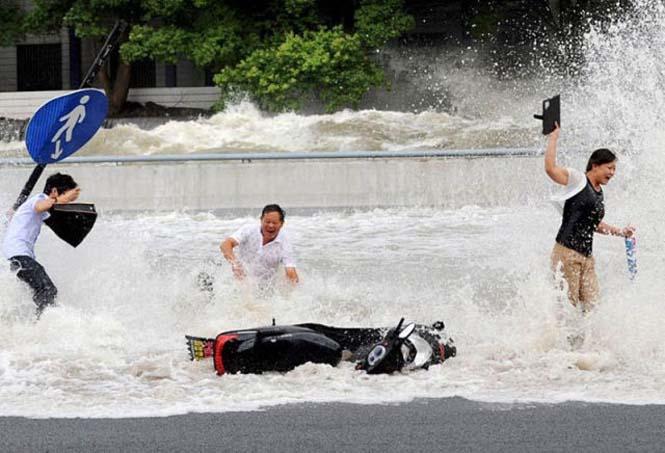 Τεράστιο παλιρροιακό κύμα στην Κίνα (14)