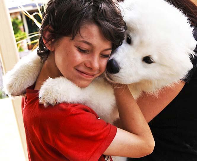 Υπέροχες φωτογραφίες σκύλων που αγκαλιάζουν τον άνθρωπο τους (10)