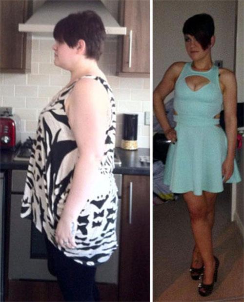 23χρονη έχασε 85 κιλά και άλλαξε ολοκληρωτικά το στυλ της (3)