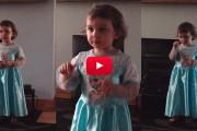 2χρονη Ιρλανδέζα δεν θέλει να την διακόπτουν όταν δίνει παράσταση