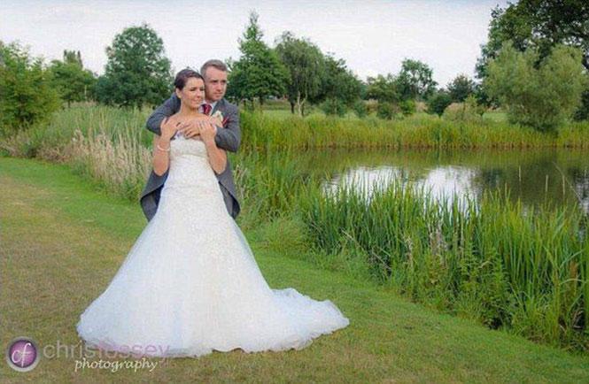 Αδυνάτισμα ζευγαριού με αφορμή τον γάμο τους (1)