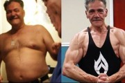 Άνδρας 136 κιλών μεταμορφώθηκε περνώντας μια ώρα την ημέρα στο γυμναστήριο