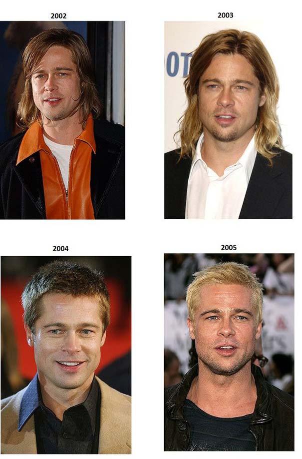 Εξέλιξη του Brad Pitt από το 1988 μέχρι σήμερα (5)