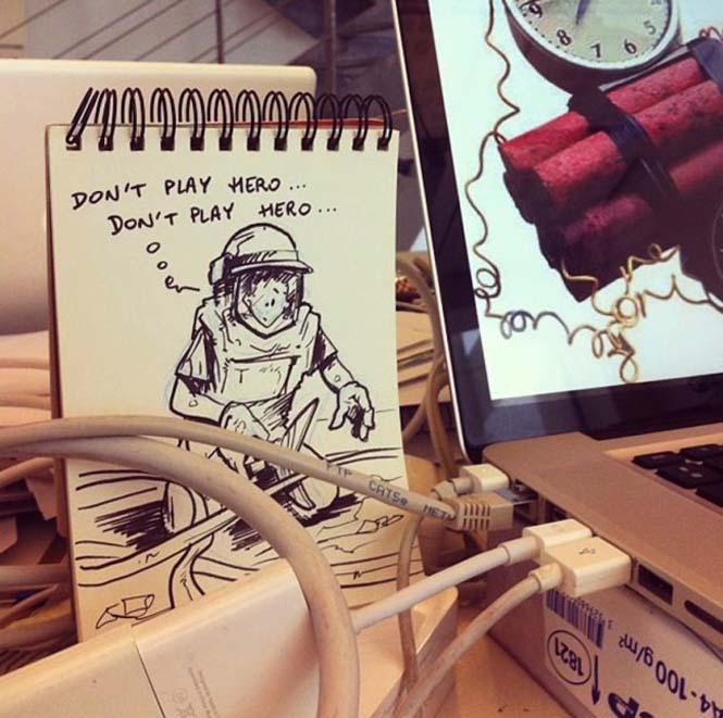 Cartoonbombing από τον Troqman (8)