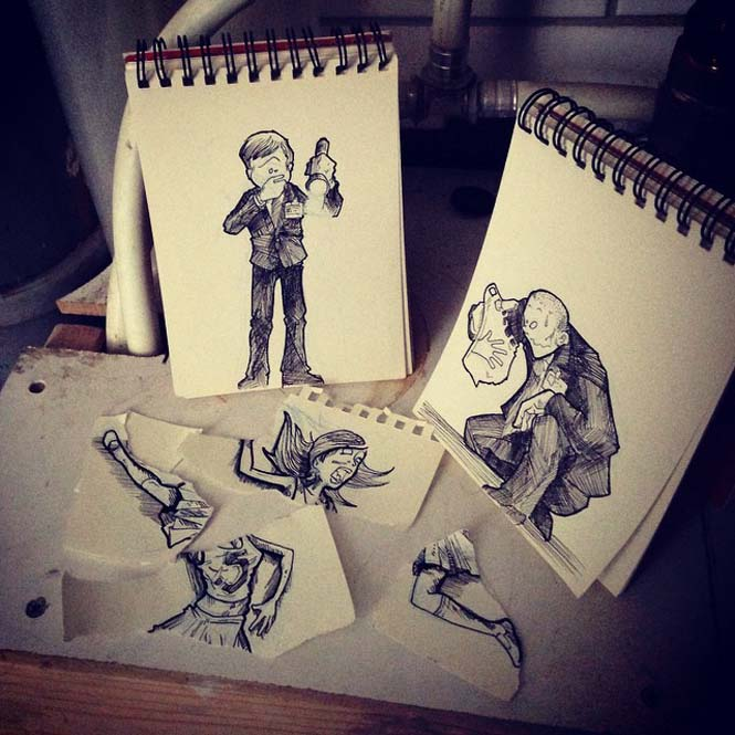 Cartoonbombing από τον Troqman (22)