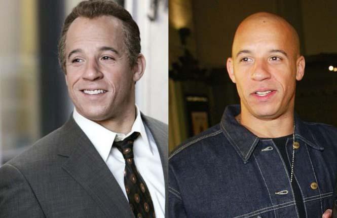 Διάσημοι χωρίς μαλλιά (1)