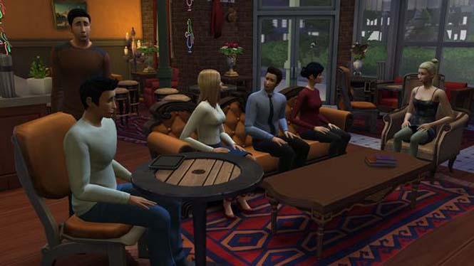 Δημιούργησε τα Φιλαράκια στο The Sims 4 (11)
