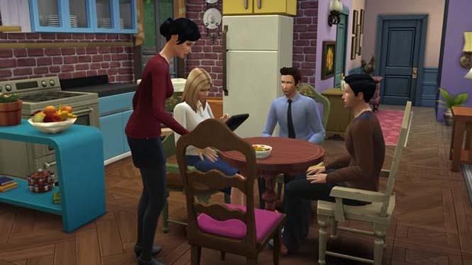 Δημιούργησε τα Φιλαράκια στο The Sims 4 (3)