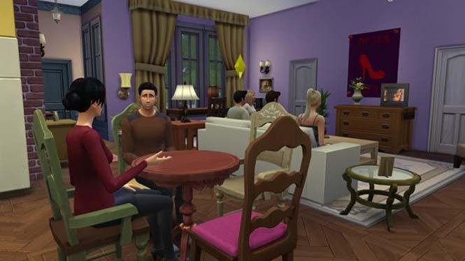 Δημιούργησε τα Φιλαράκια στο The Sims 4 (2)