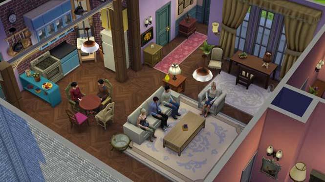 Δημιούργησε τα Φιλαράκια στο The Sims 4 (4)