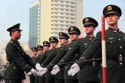 Εκπαίδευση κινέζικης αστυνομίας για την στρατιωτική παρέλαση (1)