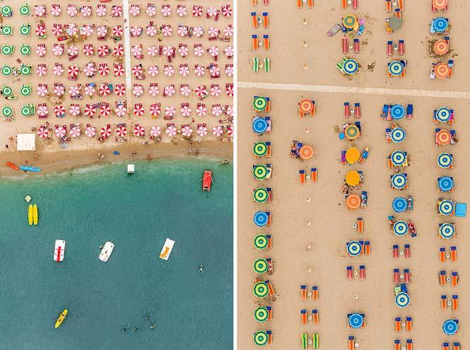 Εναέρια φωτογράφηση παραλίας από τον Bernhard Lang (2)