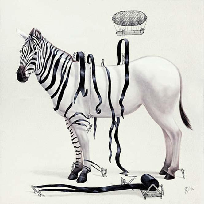 Ευφάνταστα σκίτσα απεικονίζουν πως δημιουργούνται τα ζώα (1)