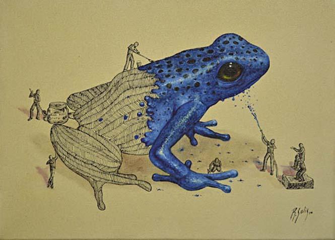 Ευφάνταστα σκίτσα απεικονίζουν πως δημιουργούνται τα ζώα (2)