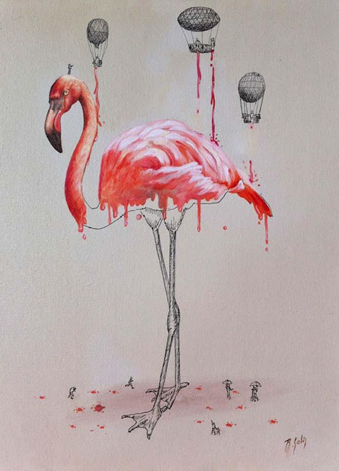 Ευφάνταστα σκίτσα απεικονίζουν πως δημιουργούνται τα ζώα (3)