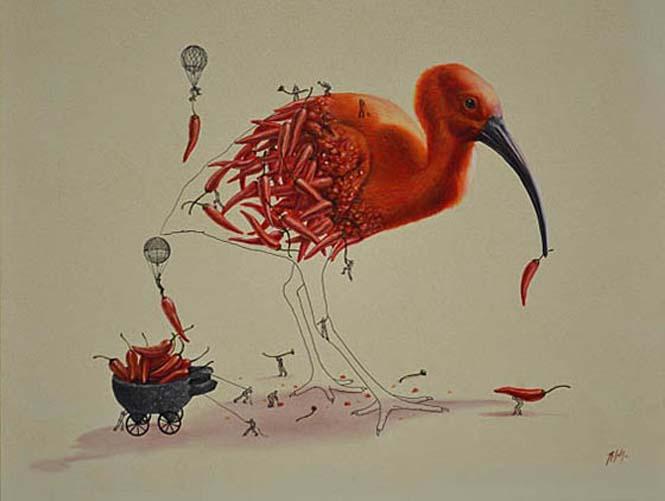 Ευφάνταστα σκίτσα απεικονίζουν πως δημιουργούνται τα ζώα (4)