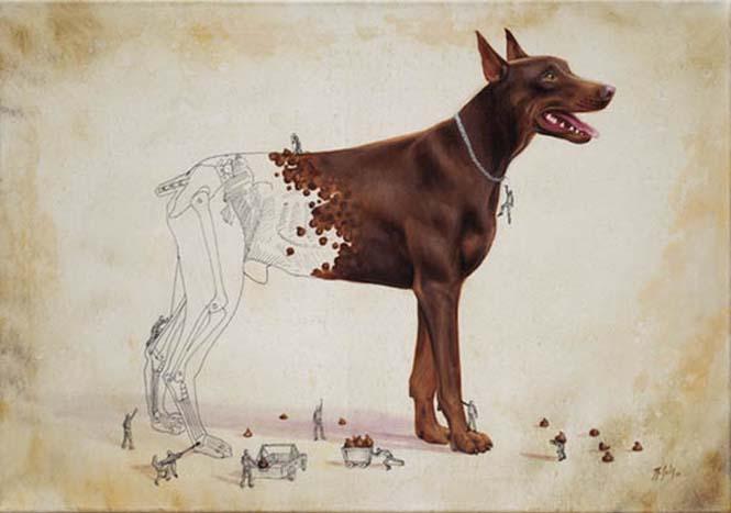Ευφάνταστα σκίτσα απεικονίζουν πως δημιουργούνται τα ζώα (5)