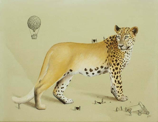 Ευφάνταστα σκίτσα απεικονίζουν πως δημιουργούνται τα ζώα (7)