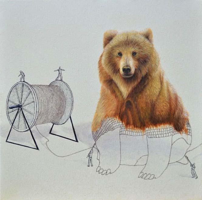 Ευφάνταστα σκίτσα απεικονίζουν πως δημιουργούνται τα ζώα (8)