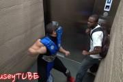 Φάρσα Mortal Kombat στο ασανσέρ