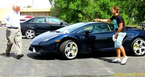 Φάρσα σε ιδιοκτήτη Lamborghini παίρνει άσχημη και επώδυνη τροπή (Video)